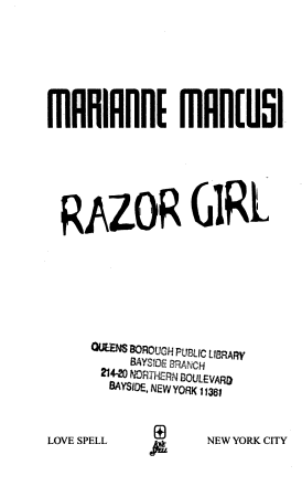 Razor Girl PDF