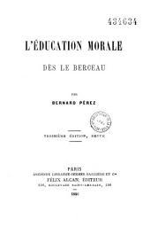 L'éducation morale dès le berceau