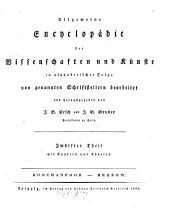 Allgemeine Encyklopädie der Wissenschaften und Künste: in alphabetischer Folge. Boochanpoor - Brezow. 1 ,12