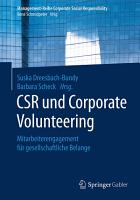 CSR und Corporate Volunteering PDF