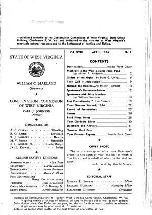 West Virginia Conservation PDF