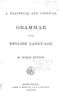 A Practical and Critical Grammar of the English Language PDF