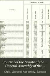 Journal of the Senate of the ... General Assembly of the State of Ohio ...: Volume 77