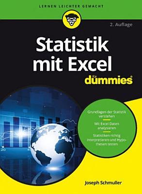 Statistik mit Excel f  r Dummies PDF