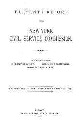 New York State Service: Volume 11