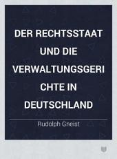 Der Rechtsstaat und die Verwaltungsgerichte in Deutschland