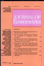 Journal of Econometrics PDF