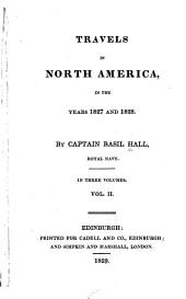 Travels in North America in the Years 1827 and 1828: Volume 2