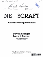 NEWSCRAFT A MEDIA WRITING WORKBOOK PDF
