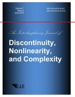Discontinuity  Nonlinearity  and Complexity PDF