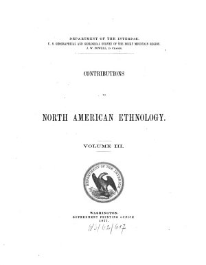 Contributions to North American ethnology PDF