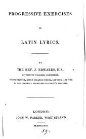Progressive exercises in Latin lyrics. [With] Key
