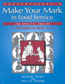 Contemporary S Make Your Mark In Food Service Book PDF
