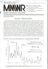 Morbidity and Mortality Weekly Report: MMWR, Volume 31, Issue 47