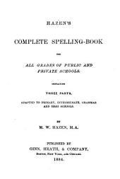 Hazen's Complete Spelling Book