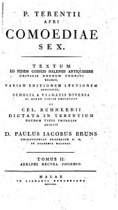 Terentii Comoediae sex: Adelphi [¬u.¬a.], Volume 2