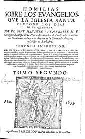 Homilias Sobre Los Evangelios Que La Iglesia Santa Propone Los Dias De La Quaresma: Volumen 2