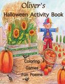 Oliver s Halloween Activity Book