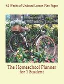 The Homeschool Planner For 1 Student