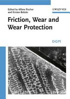 Friction  Wear and Wear Protection PDF