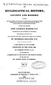 An ecclesiastical history: Volume 2