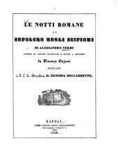 Le notti romane al sepolcro degli Scipioni