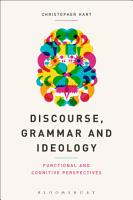 Discourse  Grammar and Ideology PDF