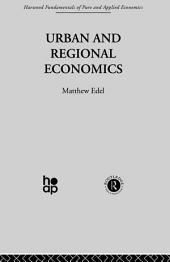 Urban and Regional Economics: Marxist Perspectives