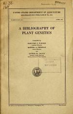 A Bibliography of Plant Genetics