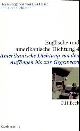 Englische und amerikanische Dichtung PDF