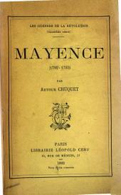 Mayence: (1792-1793)