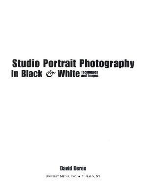 Studio Portrait Photography in Black   White PDF