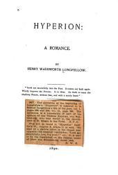 Hyperion: A Romance