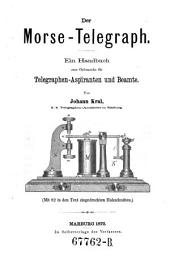 Der Morse-Telegraph. Handbuch