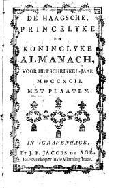 De Haagsche princelyke en koninglyke almanach