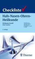 Checkliste Hals Nasen Ohren Heilkunde PDF