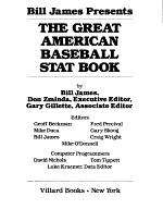 Bill James Presents the Great American Baseball Stat Book