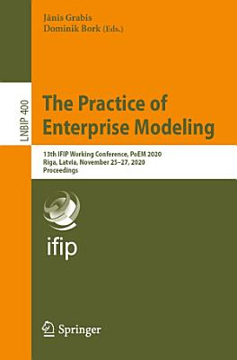 The Practice of Enterprise Modeling PDF