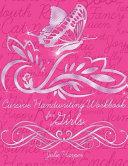 Cursive Handwriting Workbook for Girls PDF