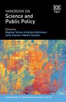 Handbook on Science and Public Policy PDF