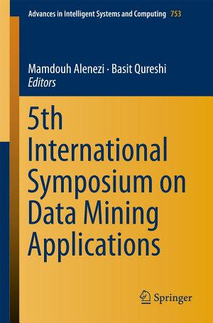 5th International Symposium on Data Mining Applications