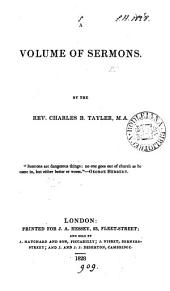 A volume of sermons