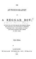 The Autobiography of a Beggar Boy  By J  D  Burn PDF
