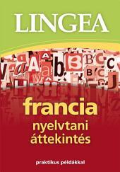 Francia nyelvtani áttekintés