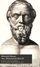 Herodoti Musae; sive, Historiarum libri IX.: [p.1] Liber I et II
