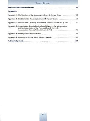 Final Report of the Assassination Records Review Board PDF