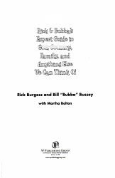 Rick and Bubba s Expert Guide to God  Country  Family  and Anything Else We Can Think of PDF