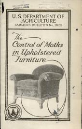 The control of moths in upholstered furniture