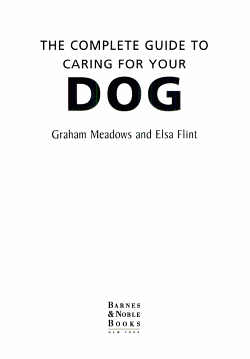 The complete guide to caring for your dog PDF