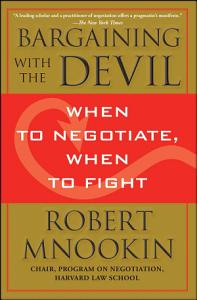 Bargaining with the Devil Book